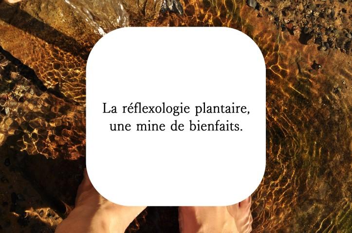 Réflexologie plantaire massage naturopathie détente stress bien-être
