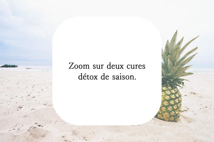 Cure pèche cure ananas détox naturopathie
