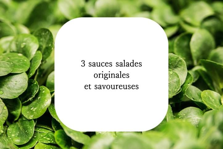 Vinaigrettes sauces salades